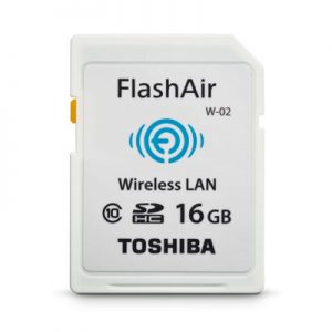 �ٻ SD Toshiba Flashair Class 10 Wifi