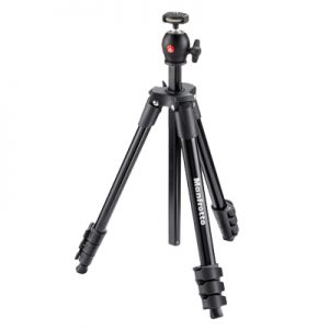 �ٻ Manfrotto Compact Light Aluminum Tripod with ball head