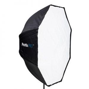 �ٻ Phottix Easy Up HD Umbrella Extra Large Octa Softbox with Grid 120cm