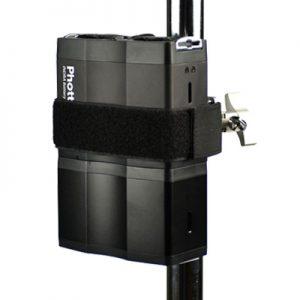 �ٻ Phottix Indra Battery Pack Light Stand Mount