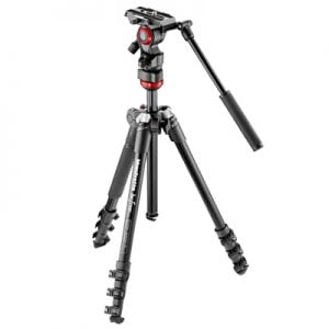 �ٻ Manfrotto Befree Live Fluid Video Head Aluminum Tripod Kit