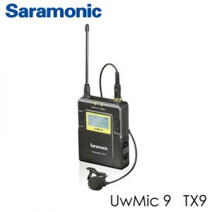 Saramonic UWMIC9 96Channel transmitters Digital UHF Wireless Lavalier Microphone System_1