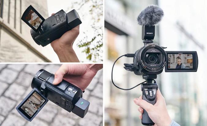 Sony FDR AX43 Handycam p13